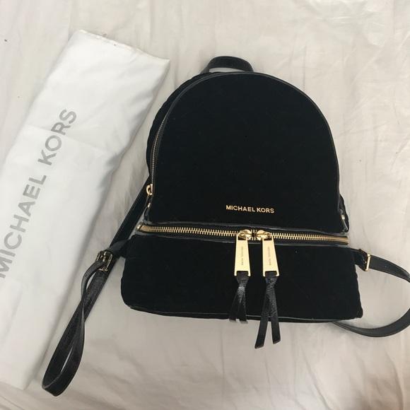 84384f574c8bd Michel Kors velvet rhea backpack SOLD