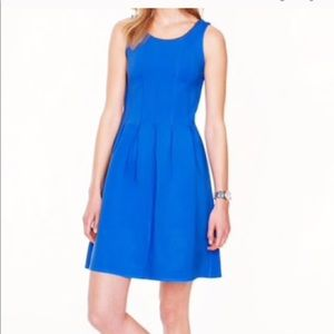 Jcrew pleated flare dress size 4