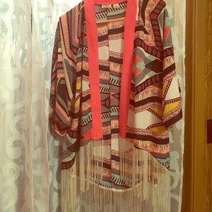 Cato colorful kimono