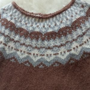 Alpaca Short Sleeve Sweater