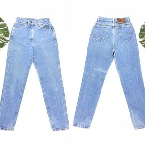 ➰Vintage Lee high waisted mom jeans 1990s➰
