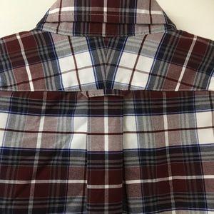 Lands' End Shirts - Lands End Plaid Button Down Shirt