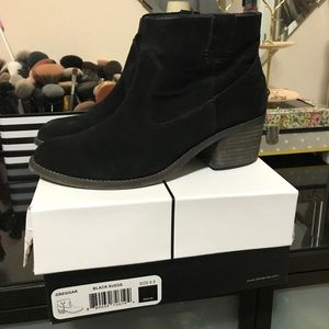 Dolce Vita - Ankle Boots - Black Suede