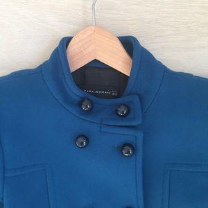 Zara Woman Peacoat