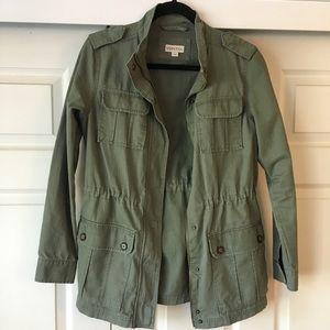 Green Anorak Jacket