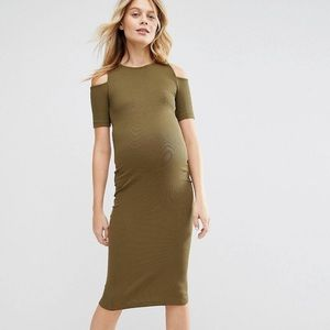 ASOS Cold Shoulder Dress
