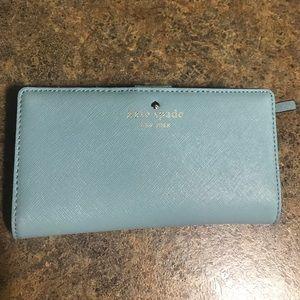 Blue Kate Spade Wallet