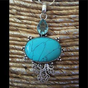 Jewelry - 🌹🌟DELIGHTFUL TURQUOISE PENDANT✨❤️NEW✨