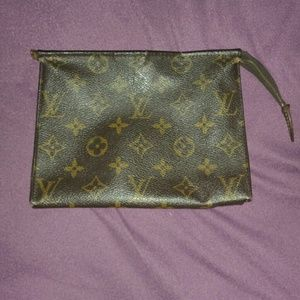 Vintage Authentic Louis Vuitton Pouch