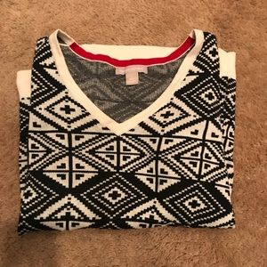 BANANA REPUBLIC apres ski Sweater L
