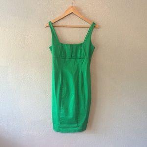 Calvin Klein green dress size 4