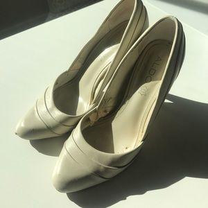 Aldo Cream Heels