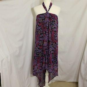 Walter Baker Silk Low Back Halter Dress