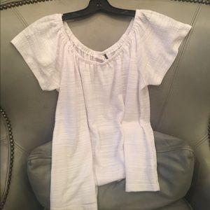 Anthropology Women's size Small White Shirt