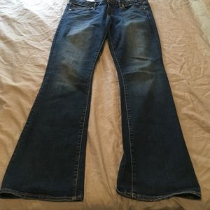 Gap Size 31r Curvy Flare Jeans