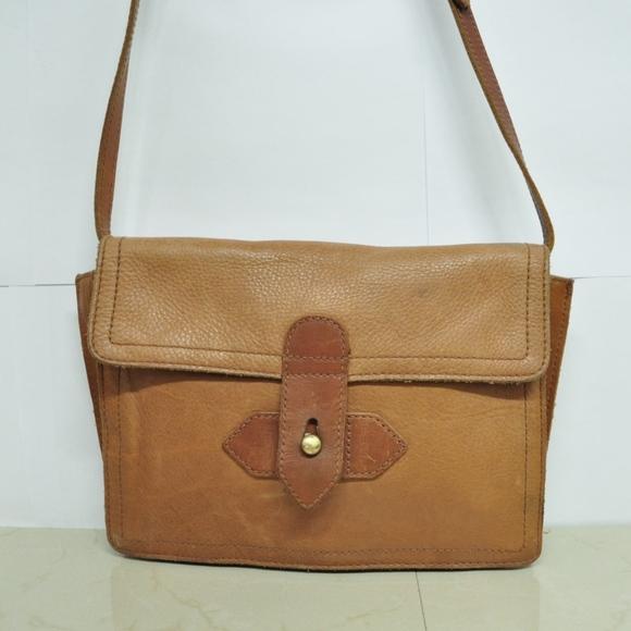 684f93346cc Madewell Bags   Cross Body Slim Bag Tan Leather   Poshmark
