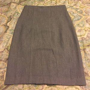 express pencil skirt. High waisted, knee length