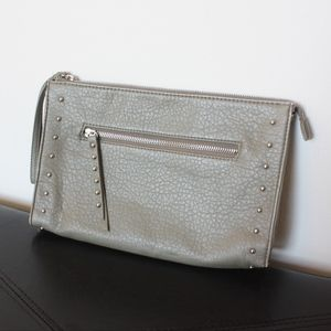 Mossimo wristlet with stud details - Olive color