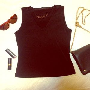 Vintage sleeveless top