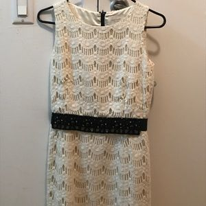 Kate Spade Dress Cream Lace EUC
