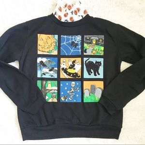 Vintage Halloween Sweater