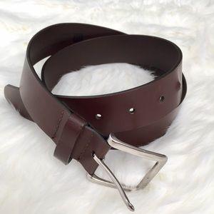 Brown Genuine Leather Belt by GAP