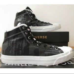 643981f7fd9f Converse Shoes - 🦃1 HOUR SALE! Converse jack Purcell shoes hi tops