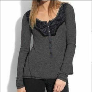 Free People Diego Henley Thermal Top