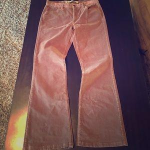 Gap Velvet boot cut jeans