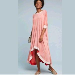 ANTHROPOLOGIE Feteworthy High Low Dress by Lilka