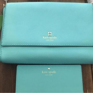 KATE SPADE CROSS BODY AND WALLET