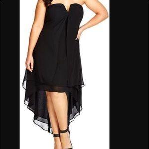 NWT City Chic chiffon dress