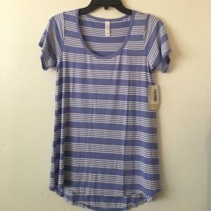 LuLaRoe Classic Simply Comfortable T Shirt Purple