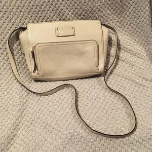Kate spade crossbody bag cream GUC