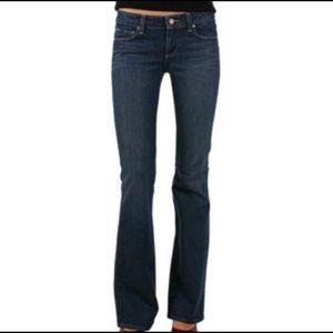 Paige Hollywood Hills Bootcut Designer Denim Jeans
