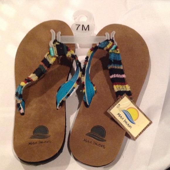 b05dd6283f2ef7 Maui Island flip flops
