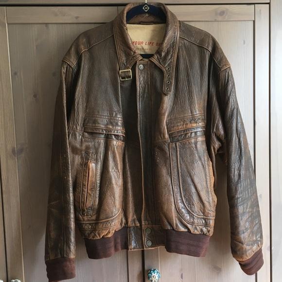 59c45eaff Vintage M. Julian Adventures Leather Jacket
