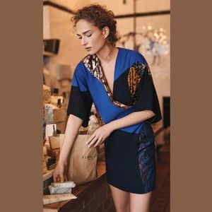Anthro Camellia Patchwork dress by HD in Paris