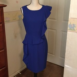 Like new royal blue dress