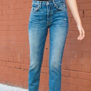 GRLFRND Karolina Petite Denim Jeans 27 Re/Done