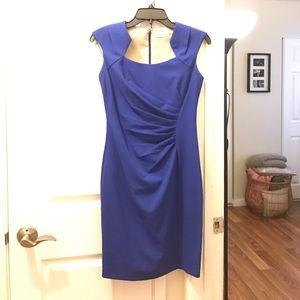 Calvin Klein cocktail dress royal blue