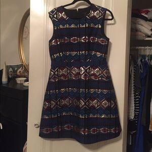 Jewel toned dress from J.Crew (fall '15)