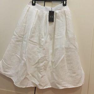 Amani Exchange flare skirt