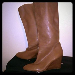 Banana Republic Brown Leather Boot