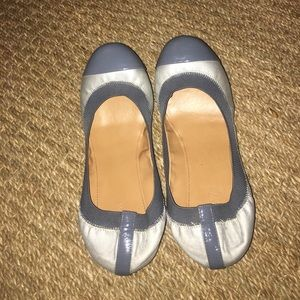 Jcrew grey and silver flats ALSO SELLING A SIZE 9