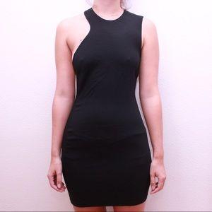 Zara Asymmetrical little black dress