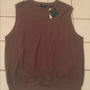 Other - Brown Men's golf vest size XL NWT