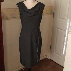 Stunning, like new bar oak gray dress