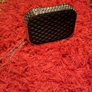 Handbags - Women's Black Evening Bag