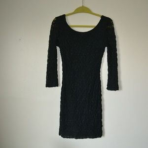 Forever21 Black Lacy Dress